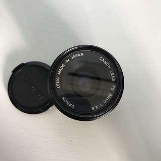 Canon FD 35mm f2.8