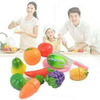 Pretend Play - Fruits & Vegetables