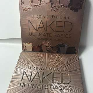 Urban Decay Naked Ultimate Basics 眼影 all matte