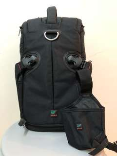 KATA 3N1-22 Sling-Backpack with laptop compartment