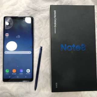 Samsung Galaxy Note 8 Deepsea Blue Limited Edition