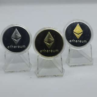 ETH Ethereum collectible coins