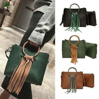 Lady Charm Tassel Handbag (Preorder)Free Delivery
