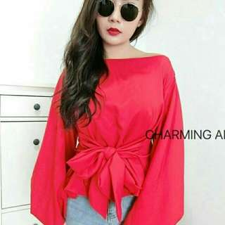 DONNA TOP  Bahan twiscone fit L