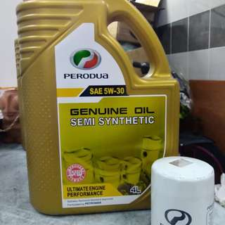 Engine Oil + oil filter