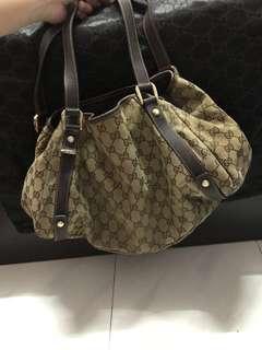💯Authentic Gucci Bosco Handbag