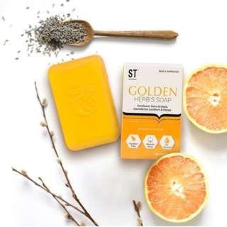 Golden herb's soap