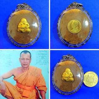 ✨Lp Dum Phra Sangkachai & 9th king amulet