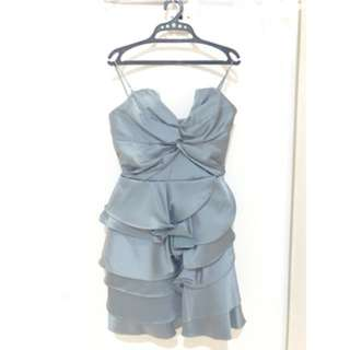 Casual Dress Silver