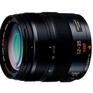Lumix G X Vario 12-35mm f2.8 lens