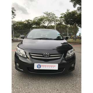 Toyota Altis 1.8A Fuel Economy Uber/Grab Rdy !