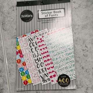 BN Stickers book