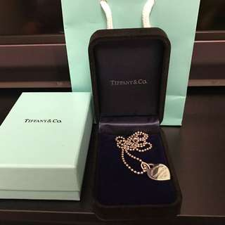 Authentic Tiffany necklace and pendant