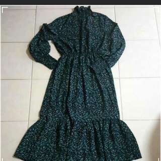 Vintage Dress (suitable for muslimah)