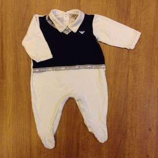 Armani Baby Romper (6M)