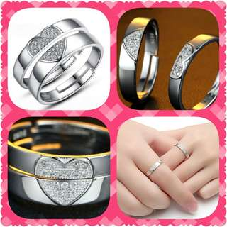 S925 Couple Ring (CR-016)