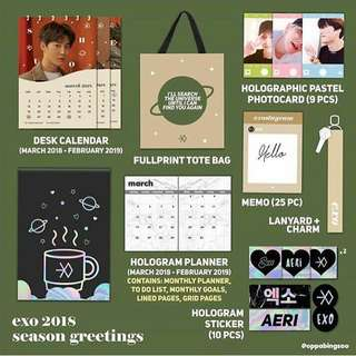 [GO] EXO's Season Greeting by https://www.instagram.com/oppabingsoo