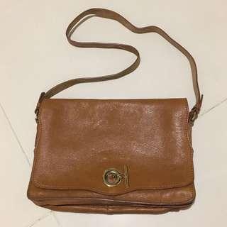Zara Cow Leather vintage bag