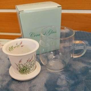 日本 有田燒 茶杯