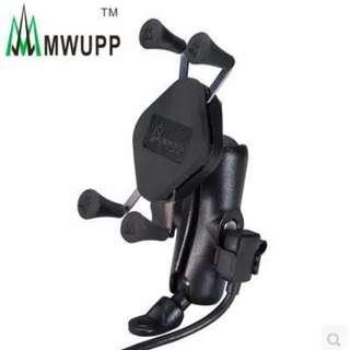MWUPP waterproof usb fast charger