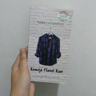 Novel Kemeja Flanel Rian