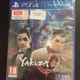 PS4 Yakuza 0 (Brand New)
