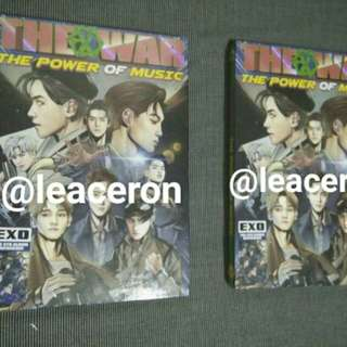 EXO - THE POWER OF MUSIC REPACKAGED ALBUM (UNSEALED)