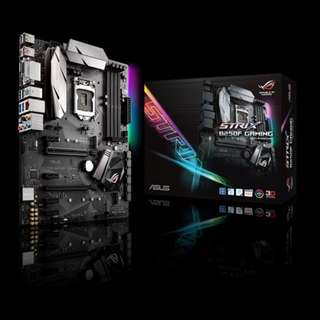 Asus STRIX B250F GAMING | Intel® Socket 1151 for 7th/6th Generation Core™ i7/Core™ i5/Core™ i3/Pentium®/Celeron® Processors | ATX | DDR4 Memory Support | HDMI/DVI-D/DisplayPort Ports