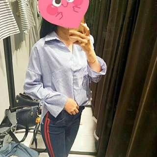 Tied Sleeves Shirt
