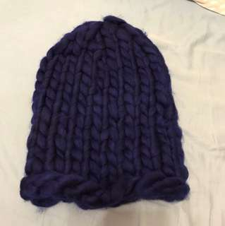 深藍色冷帽