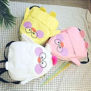 <P.O> Trendy Korean Ulzzang Little Chicken Backpack Bag