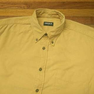 Kemeja UNIQLO Corduroy Shirt Lengan Panjang