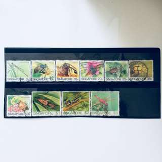 1985 Insects Stamps (Full Set)