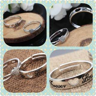 S925 Couple Ring (CR-018)