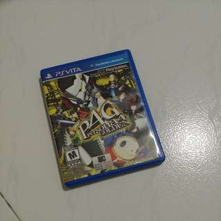 Persona 4 Golden PS Vita