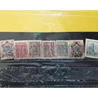 CCCP - 7 Used Stamps Lot