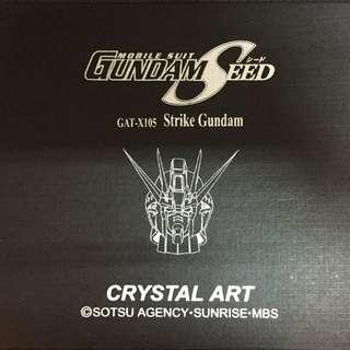 Gundam Seed Crystal Art
