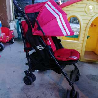 Mini Easywalker Red Stroller