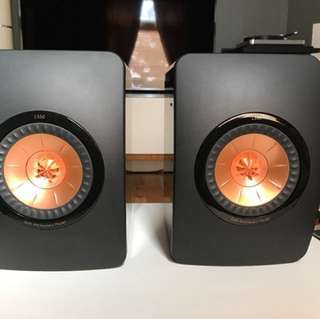 KEF LS50 50th anniversary edition - price firmed