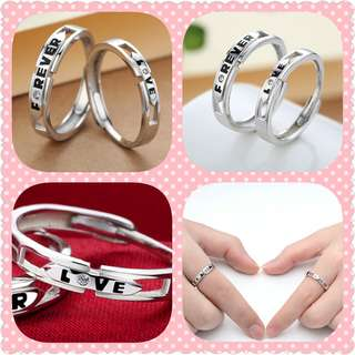 S925 Couple Ring (CR-019)