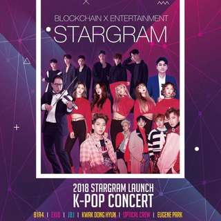 FREE STARGRAM TICKETS!!!!