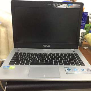 Laptop ASUS proc i7 N46JV