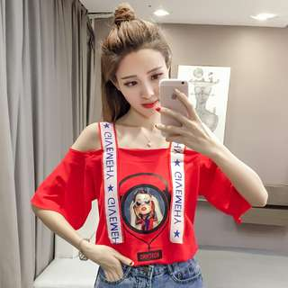[PO] Off shoulder summer top