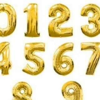"32"" Balloon Foil Gold"