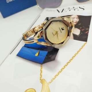 Swarovski watch replica stainless