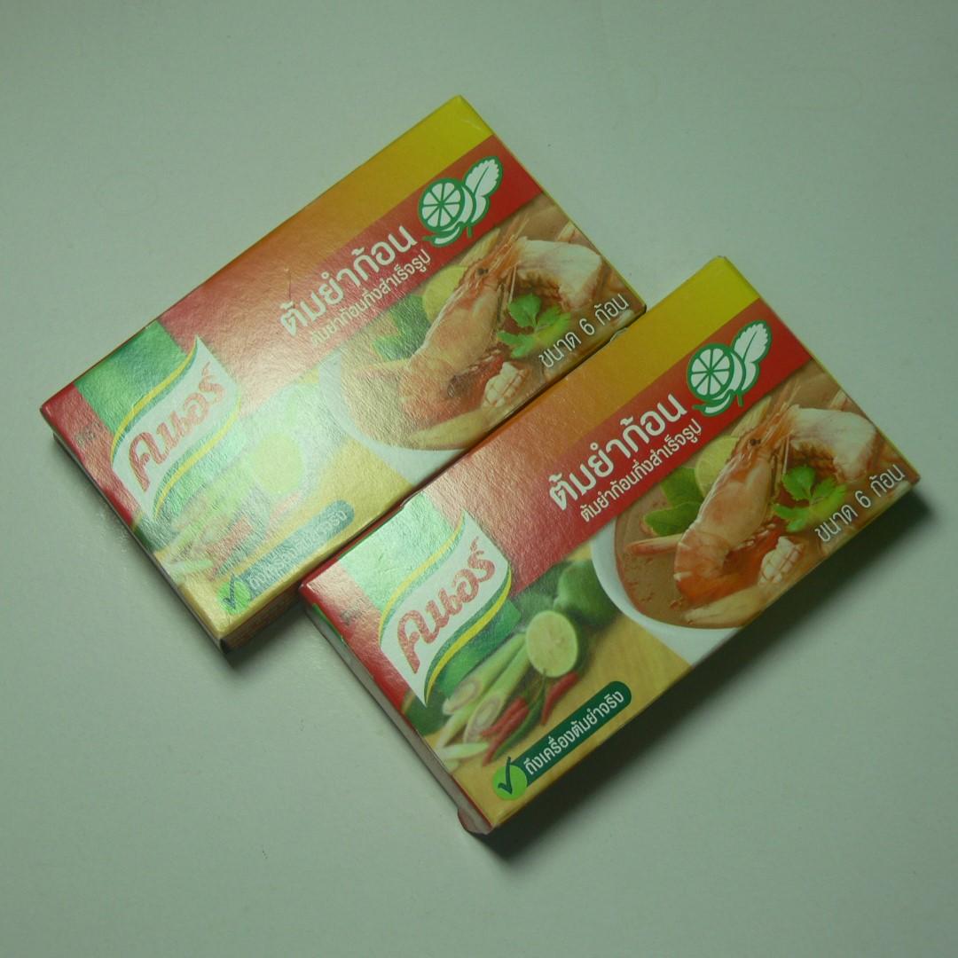 泰國/康寶/泰式酸辣湯塊2盒