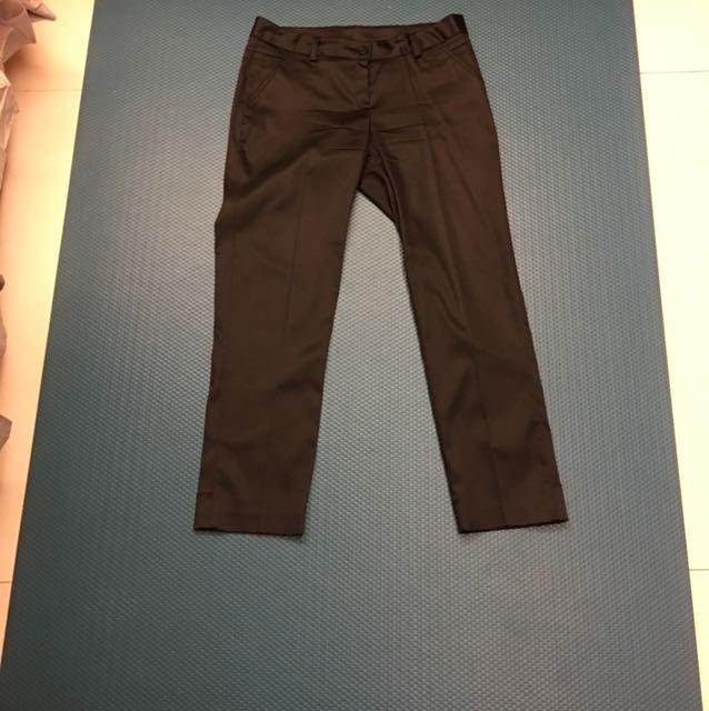 黑色9分褲