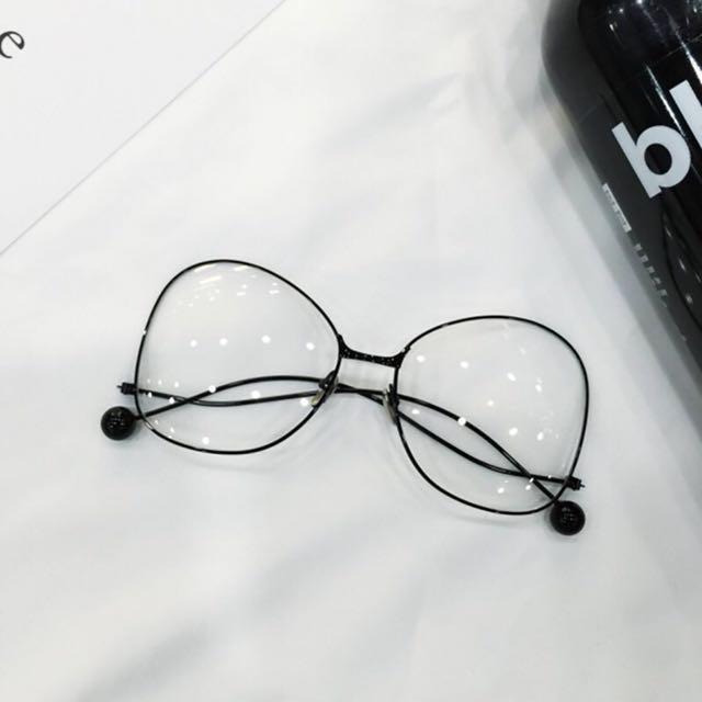 蝴蝶眼鏡(黑色)