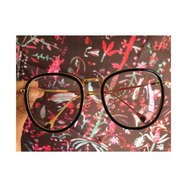復古金屬大框眼鏡