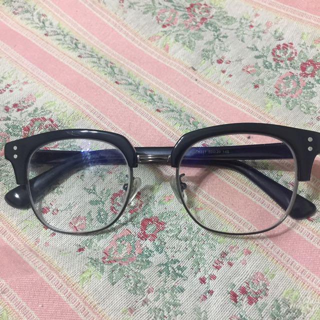 粗框時尚復古眼鏡